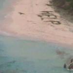 "Menulis ""Tolong"" di Pantai, Tiga Pria yang Terdampar Diselamatkan"