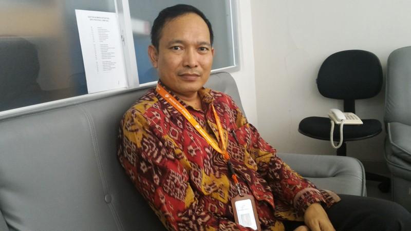 Kepala Bidang Statistik Distribusi BPS Provinsi Lampung Bambang Widjanarko. Foto : Robert