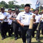Bupati Lampung Tengah Minta Masyarakat Jaga Budaya Gotong Royong