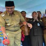 Bupati Lampung Tengah Mustafa Canangkan Gerakan Literasi Sekolah