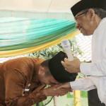 Gubernur Lampung Ridho Ficardo Temui Hasyim Muzadi