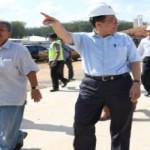 Ketua DPD Pantau Progres Jalan Tol di Desa Sabahbalau, Lampung Selatan