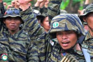 Pasukan bersenjata MILF 2