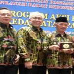 Bupati Pringsewu Sujadi Menjadi Narasumber Pada Sinreg DKP Wilayah Barat Indonesia Tahun 2016