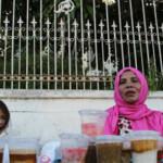 Pasar Ramadan Di depan Gereja Kupang