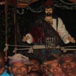 Prosesi Hati Kudus Yesus di Dekenat Mena