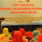 """Gubernur Lampung : """"Pembangunan yang kita lakukan kurang bermakna jika laju pertumbuhan penduduk tidak terkendali"""""""