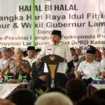 Gubernur Gelar Halal Bihalal dengan Bupati/Walikota se-Provinsi Lampung