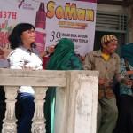 Radio Suara Wajar selenggarakan acara halal bi halal bersama para pecinta program acara Lambang Sari