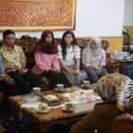 Wagub Lampung menerima audiensi dari Himpunan Pelajar Mahasiwa Lampung Yogyakarta