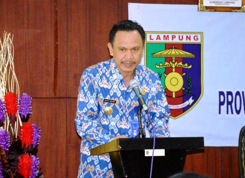 Kepala Bappeda Provinsi Lampung Taufik Hidayat. Foto: Sumarju Saeni