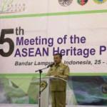 ASEAN HERITAGE PARKS KE-5 RESMI DIBUKA HARI INI