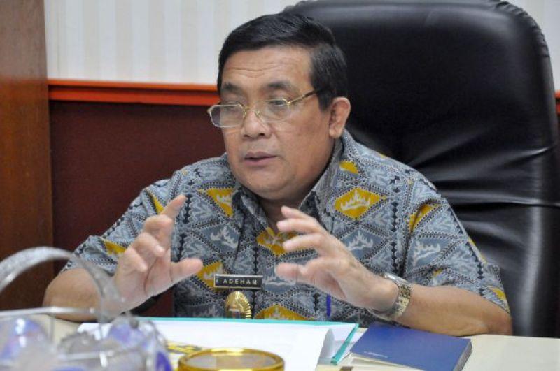 Asisten Bidang Ekbang Pemerintah Provinsi Lampung Adeham.