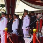 Gubernur Lampung pimpin peringatan Hari Kemerdekaan Republik Indonesia ke-71