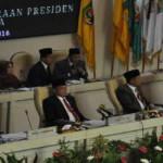 Rapat Paripurna Istimewa DPRD Provinsi Lampung mendengarkan Pidato Kenegaraan Presiden Republik Indonesia Joko Widodo dalam rangka HUT RI ke 71