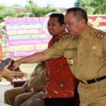 Kios PKL Batu Akik PKOR Way Halim Bandar Lampung Diresmikan