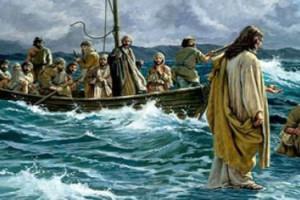 Yesus Berjalan diatas air