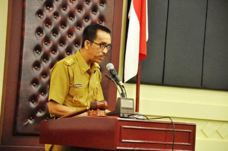 Staf Ahli Gubernur Bidang Ekonomi dan Keuangan Budiharto.
