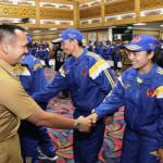 Gubernur Ridho Lepas Kontingen PON Lampung ke Jabar