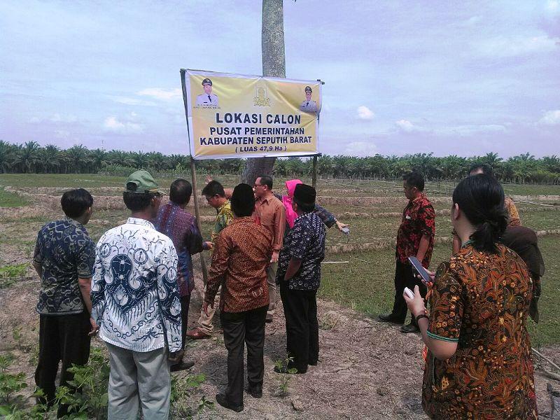 Kunjungan Komite I DPD RI ke calon daerah persiapan (DP) Kabupaten Seputih Barat, Minggu 25 September 2016.  Foto : Sumarju Saeni