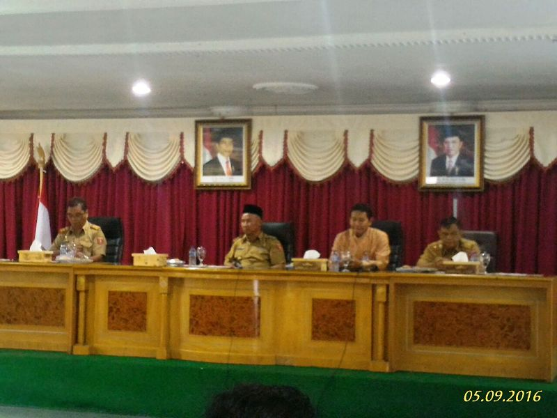 Peluncuran Sistem Informasi Harga dan Komoditi dilakukan pada Senin 5 September 2016, oleh Bupati Lampung Barat Mukhlis Basri di Ruang Rapat Kagungan Kantor Bupati Lampung Barat.