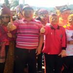 Lampung Barat Pecahkan Rekor MURI Arak-arakan Terbanyak dengan Mengenakan 5454 Sekura