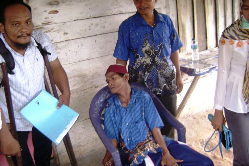 Kegiatan Unit Pelayanan Sosial Keliling (UPSK) beberapa hari yang lalu di Desa Hanura, Kecamatan Teluk Pandang, Pesawaran.