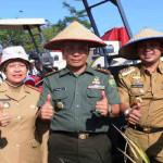 Gubernur Lampung panen perdana padi hibrida di Kabupaten Tulang Bawang