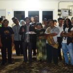 """Ini Video """"Ulah"""" Fans Lambang Sari Ramaikan Hari Jadi Suara Wajar Bandar Lampung ke-43"""