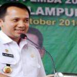 Gubernur Lampung Kukuhkan DPW PERHIPTANI Lampung