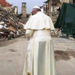 """Kunjungan """"Pribadi dan Sendiri"""" Paus Fransiskus ke Lokasi Gempa di Amatrice"""