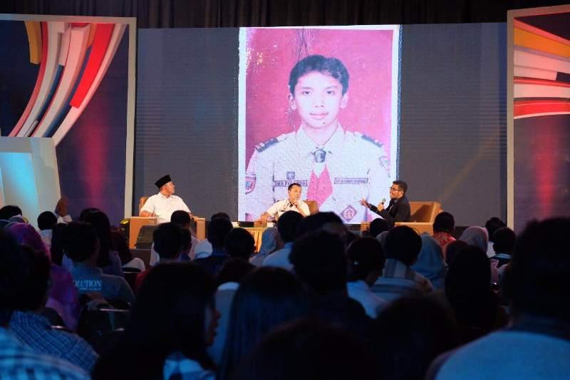 """Diskusi publik dengan tema """"Mewujudkan Lampung yang Aman, Maju, dan Bebas Narkoba"""". Acara digelar di Kampus Unila , Senin 31 Oktober 2016."""