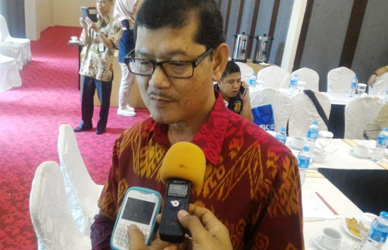 Kepala Bagian Pengawasan Bank OJK Lampung Mendi Rahmadi. Foto : Robert