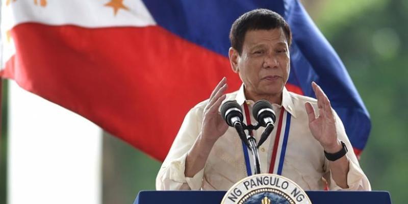 Presiden Filipina Rodrigo Duterte. Foto : AFP