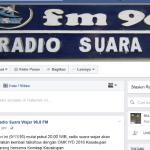 Akun Facebook Radio Suara Wajar Dibobol Oknum Tidak Bertanggung Jawab