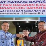 Lakukan Pengawasan Obat dan Makanan, Pemprov Lampung Lakukan MoU dengan BPOM RI