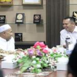 Gubernur M Ridho Ficardo sampaikan terima kasihnya pada Alim Ulama dan Para Kiyai NU di Lampung