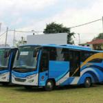 Pemprov Lampung kembali terima bantuan 20 unit bus dari Kementrian Perhubungan