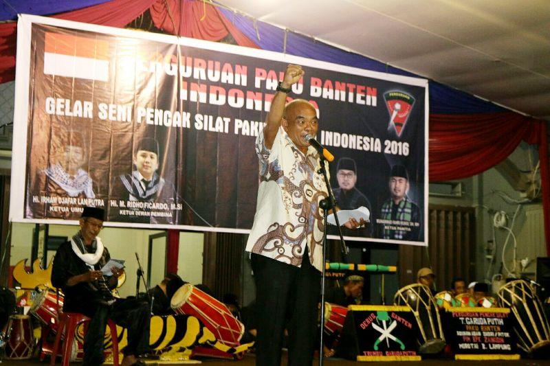 Kepala Badan Kesbangpol Provinsi Lampung Irwan S. Marpaung