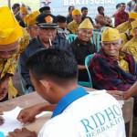 Relawan Garuda Ridho Berbakhti Sambangi 150 Veteran Lampung Barat