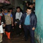 Ridho Ficardo Kujungi Korban Banjir Kota Karang Bandar Lampung