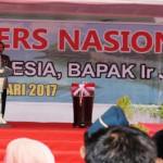 Biro Humas dan Protokol Provinsi Lampung hadiri puncak Hari Pers Nasional 2017 di kota Ambon, Maluku