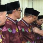 Bachtiar Basri Kukuhkan Kepengurusan LPJK Provinsi Lampung periode 2016-2020