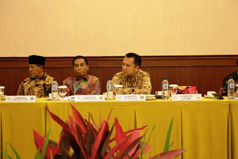 Gubernur Lampung M Ridho Ficardo pada acara Musyawarah Nasional Asosiasi Pemerintah Provinsi Seluruh Indonesia (APPSI)