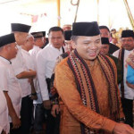 M Ridho Ficardo Sambangi Rakyat Kabupaten Way Kanan