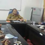 Kadis Sosial Provinsi Lampung Sumarju Saeni Terima Audiensi Pengurus IPSM Provinsi Lampung