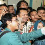 Gubernur Lampung M Ridho Ficardo Berikan Kuliah Umum di Unila