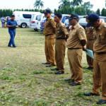 Pemerintah Pemprov Lampung Lakukan Apel Pengecekkan Mobil Dinas