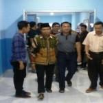 Ridho Ficardo jenguk mantan Ketua Kwartir Daerah Gerakan Pramuka Lampung periode 2010-2015 Sjahrazad ZP