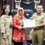 Gubernur Lampung Sampaikan SPT Tahunan Tahun 2016 secara E-Filing